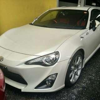 Toyota GT86 UNREG 2012