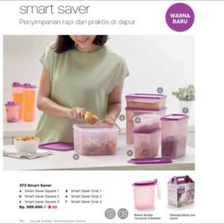 Tupperware smart saver 1 set