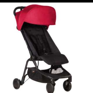 Travel stroller MOUNTAIN BUGGY - rent