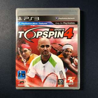 Top Spin 4 - PS3 Brand NEW