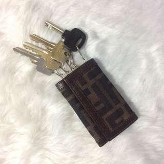 Authentic fendi key holder