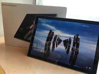 New Surface Pro 5 2017 i5 / 4GB / 128 SSD 平板 手提 電腦 行貨有保 (not iPad iPhone)