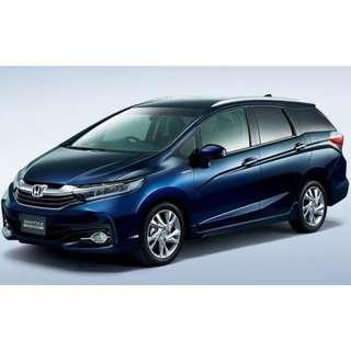 Honda SHUTTLE HYBRID BRAND NEW