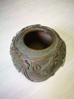 Antique Bowl, vase, display