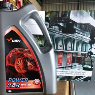 Engine Oil Win 10w-40 (4L)