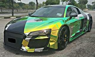 Audi r8 v8 Sambung Bayar