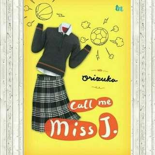 ebook ~ Call me miss J