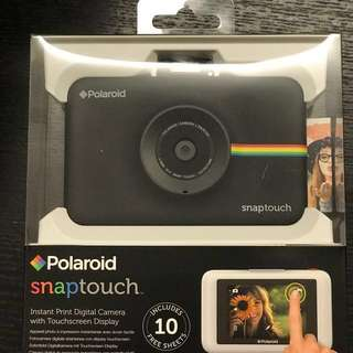 polariod snaptouch instant digital camera total got last 2set each sold at sgd 169