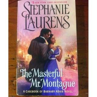 The Masterful Mr Montague, Stephanie Laurens