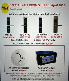 Yale Special Promo