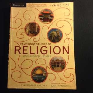 Cambridge Studies Of Religion HSC