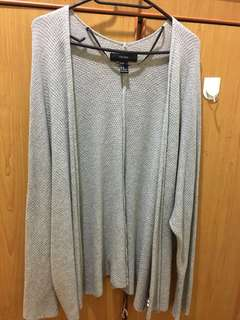UP$25 Long cardigan 38/M Forever 21