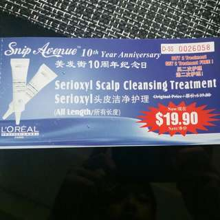 scalp cleansing treatment
