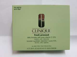 Clinique Fresh Pressed