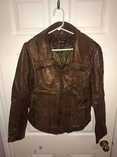 Danier Genuine Leather Jacket Size Medium