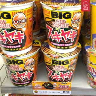 (日本代購) 日本合味道壽喜燒杯麵 Cup Noodle