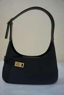 Salvatore Ferragamo Leather Hobo Bag Authentic Like New