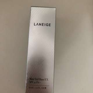Laneige skin veil base EX SPF 22,  light purple, 30ml