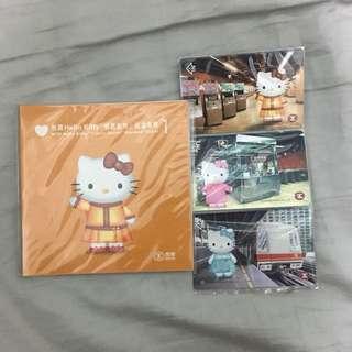 Hello Kitty 紀念車票