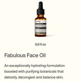 Aesop Fabulous Oil