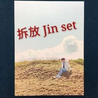 拆放 BTS 2018 SG Jin set