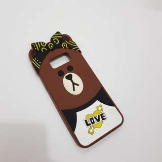 BROWN CASE SAMSUNG S8