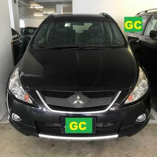 Mitsubishi Grandis RENTING CHEAPEST RENT AVAILABLE FOR Grab/Uber