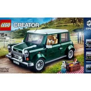MISB Lego 10242 Creator MINI Cooper Building Toy - 1077 pieces (NEAREST MRT)