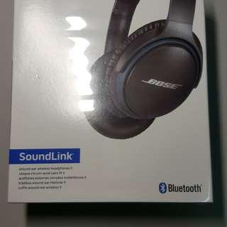 BOSE SoundLink藍芽耳罩耳機