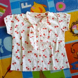 Cherry Blouse (3T)