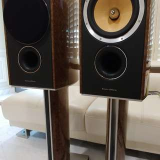 B&W 805 Diamond speakers