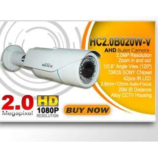 Varifocal Auto Zooming Bullet CCTV Camera