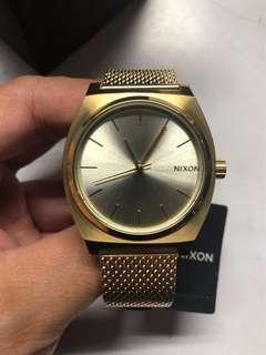 Nixon Time Teller Milanese (Gold)