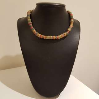 Tribal Inspired Colourful Beaded Necklace