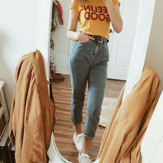 Feelin' good mustard top