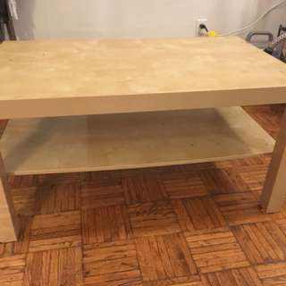 Wooden Coffee Table/ Side Tbl