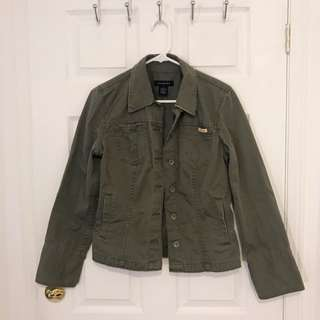 Calvin Klein - Forest Green Jacket