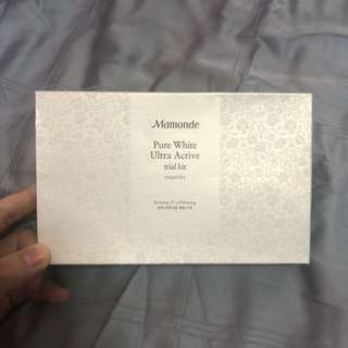 Mamonde Pure White Ultra Active Kit