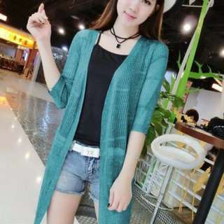 Knitted cardigan fits S-L