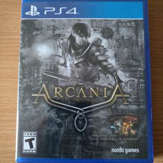 Ps4 Arcania The Complete Tale
