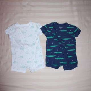 Cotton on-onesies (3-6mons)