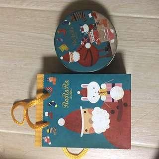 日本進口聖誕waffles