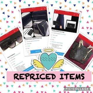 REPRICED ITEMS -php500 but still negotiable😊
