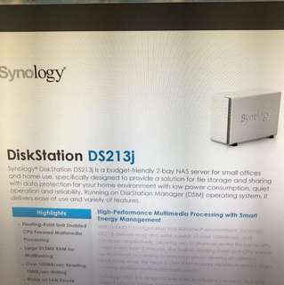 Symbology DS213J 2bay NAS
