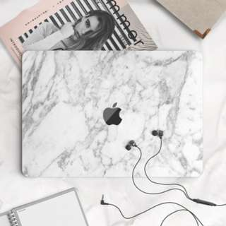 Abstract Granite Distorted Marble Macbook Vinyl Decal