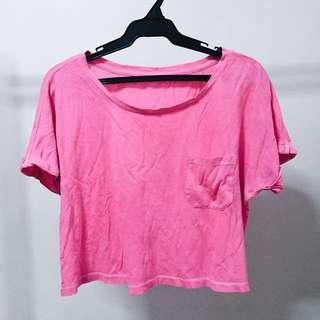 Pink neon top