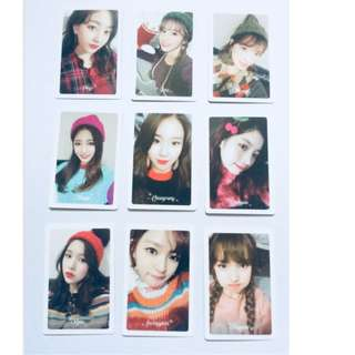 ON HAND TWICE MERRY & HAPPY PRE-ORDER BENEFITS TINGI PHOTOCARD OFFICIAL