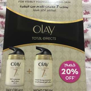 Olay total effects day and night