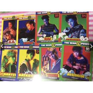 ON HAND OFFICIAL PHOTOCARD EXO CHARACTER CARDS PC TINGI