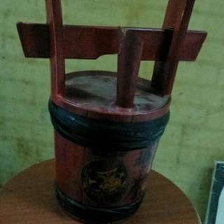Old Japanese Wine Holder